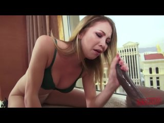 Tiny Blonde Anal Whore Angel Smalls Double Penetration With HUGE Black Cock