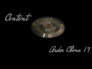 Centent cymbals - ARDOR 17 China