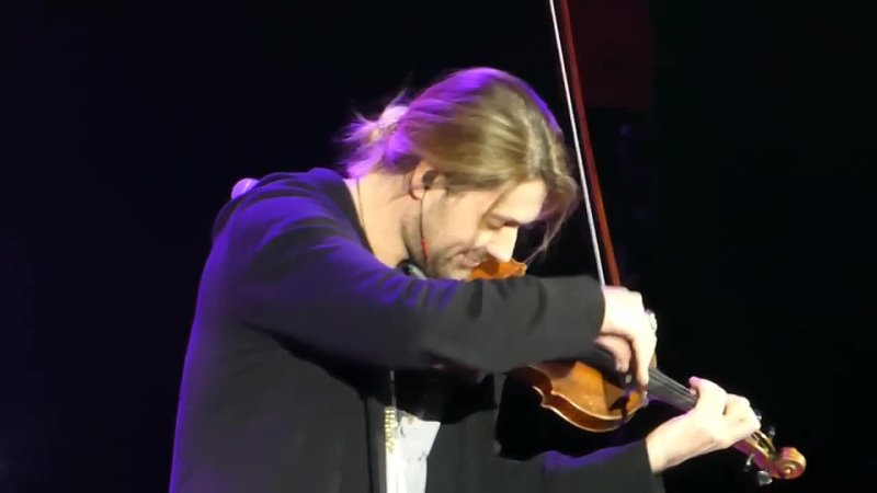David Garrett Viva La Vida Live Vilnius 2017 12 07