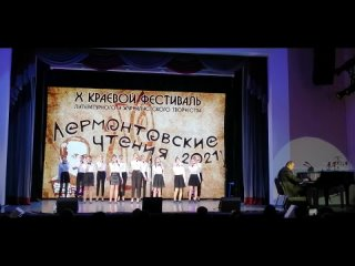 """Старший хор студии """"Звонкие голоса"""" - Гимн фестиваля"""