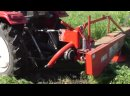 мини трактор 1973 Заготовка СЕНА Трактором ! Весь Процесс Заготовки !/коса/грабли/пресс подборщик/harvesting hay