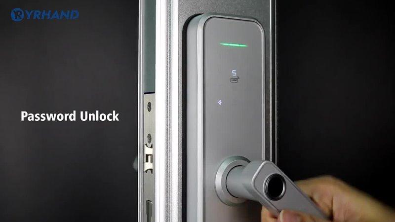 Умный дверной Wi Fi замок