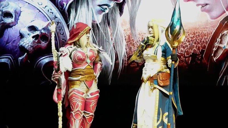 Animate It 2021 MadHouse World of Warcraft Jaina Proudmoore Sylvanas Windrunner