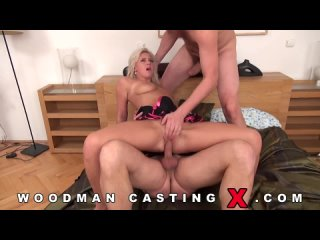 Woodman Casting X. Czech woman at the casting takes penises in her mouth and cap