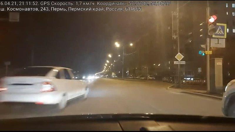 Водитель Приоры извинился перед пермяками