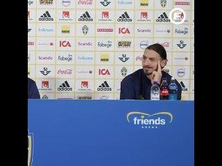 Златан заплакал, когда рассказывал про сына и сборную Швеции