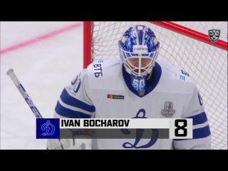 ТОП-10 лучших сэйвов второго раунда плей-офф КХЛ / 8 место — Иван Бочаров