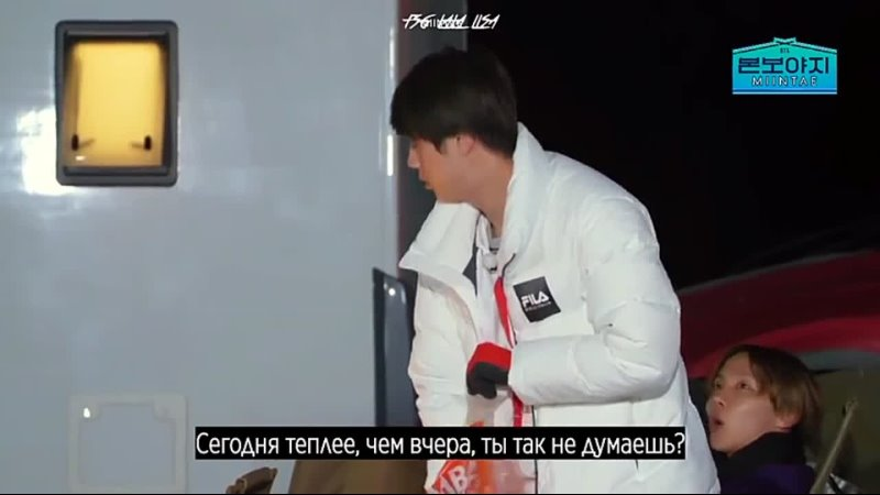 BTS Bon Voyage 4 сезон серия 6 За кадром Сабы FSG lala lisa