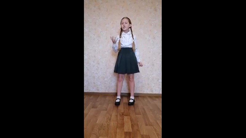 ЧМ 10 Доценко Виолетта 8 лет Солдат