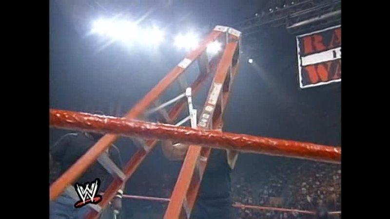 The Attitude Era Collection The Rock vs Triple H Ladder IC Title Summerslam 1998