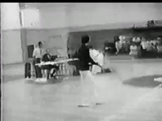 1968 Long Beach Bruce Lee in the tournament Jhoon Rhee