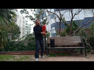 Alex Clover of FRAM - Bard Song of Blind Guardian на волынке