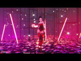 [MMD] JENNIE (BLACKPINK) - SOLO (The Show ver.) - (Luna)   [Official Camera DL]