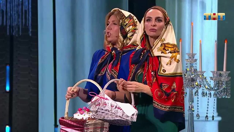 Камеди Вумен Рублёвские жёны в церкви