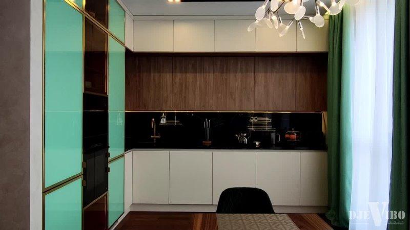 Кухня гостиная в ЖК Образ жизни