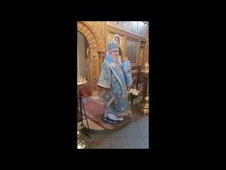 Проповедь Владыки Сергия в Святых горах в праздник Благовещения
