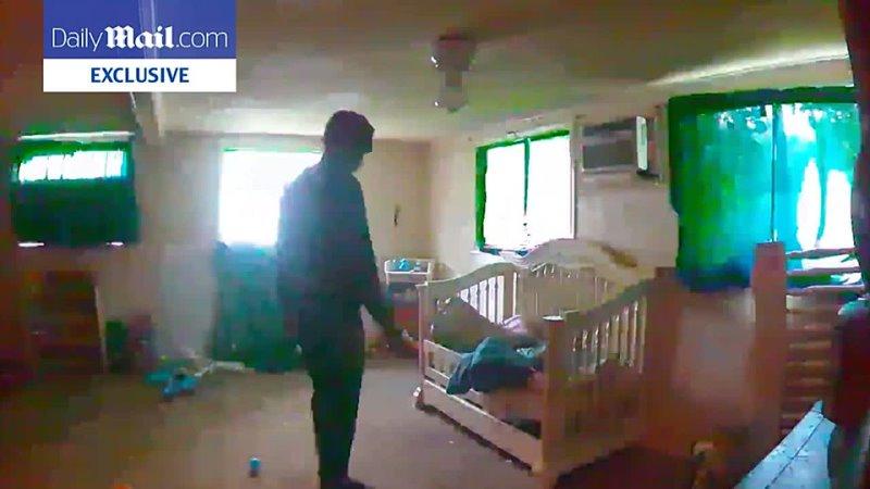 Момент кражи ребёнка Брауном