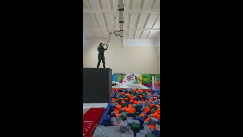 Прыжок в кубики Эля