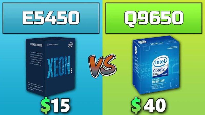 Albania Gaming Xeon E5450 vs Core 2 Quad Q9650 Comparison