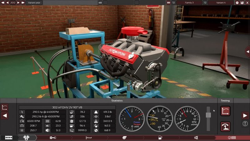Chevy DZ 302 Engine Replica! Automation Gameplay