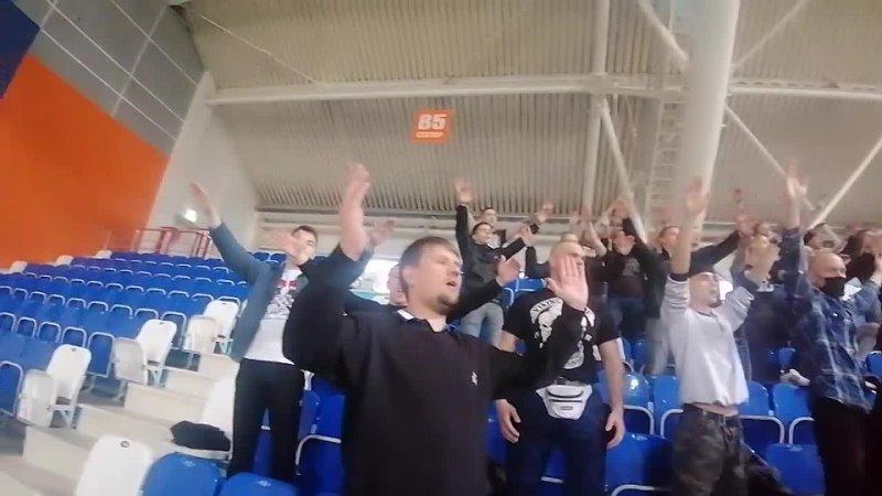 Novosibirsk Ultras поддерживает любительский Чкаловец
