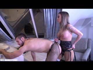 Kat Dior - Triumph of Horoscope Girl [Femdom, Strapon, Pegging, Anal, Pantyhose, Pussy Licking, FaceSitting]