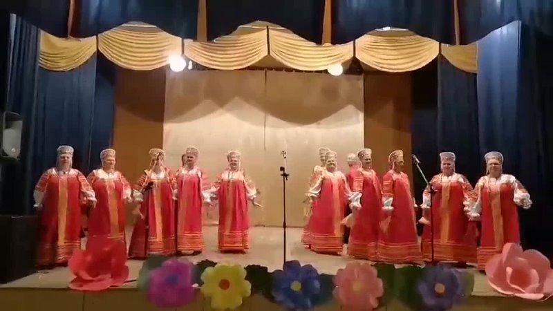 Ансамбль Самоцветы с песней Как по горкам по горам mp4