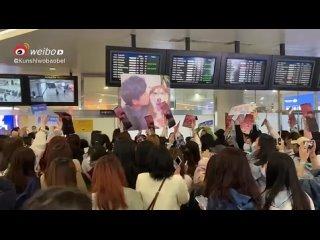 Фанаты ждут Тони в Ханчжоу