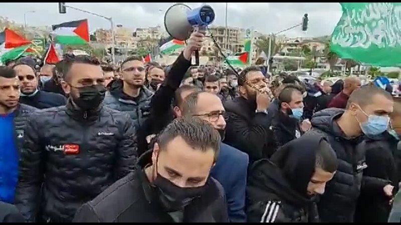 ⚡Восстание в Умм эль Фахме 11 неделю подряд Протест против убийств на оккупированных палестинских территориях 48 года