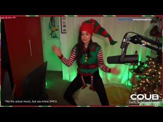 Sasha Grey Dances As An Elf