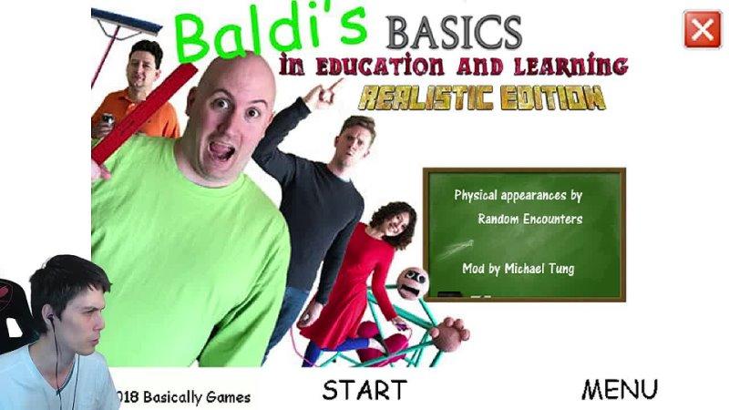 [Mr DeKart] БАЛДИ В РЕАЛЬНОЙ ЖИЗНИ ! - Baldis Basics in Education and Learning Realistic Edition Mod