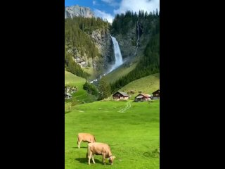 hiddeninthewood on Instagram_ Would you live in this Swiss ----mountain village__ Just close imagine waking up to this view_ Tag