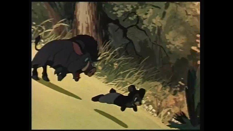 Мишка задира 1955 СССР мультфильм