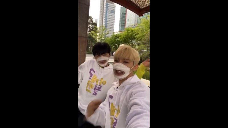 210416 Jangjun Woong @ Instagram Live ( _ssap_possible)