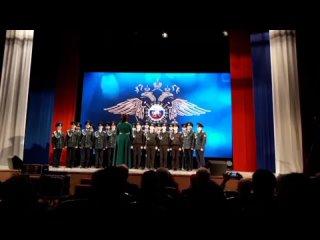 23 февраля 2020г, хор кадет на выступлении в СКЦ