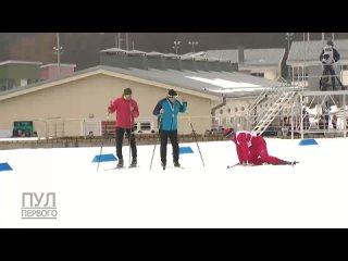 #necro_tv: Лукашенко принял участие в лыжной эстафете