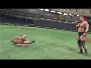 Minoru Suzuki vs. Sanshiro Takagi -  (DDT Street Wrestling In Tokyo Dome)