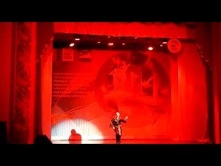 """год.Выступление коллектива «Вдохновение» на """"Марафоне талантов"""" - стилизованный японский танец «Ясумэ» (исполнители:"""