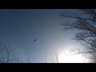 Володя пролетает рядом. Возвращение президента с парка Космонавтики.