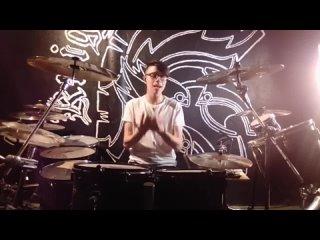 MI PRIMER PATROCINIO (Centent LAD Cymbals) 2020 (Drum cam)  Maraydersteel version