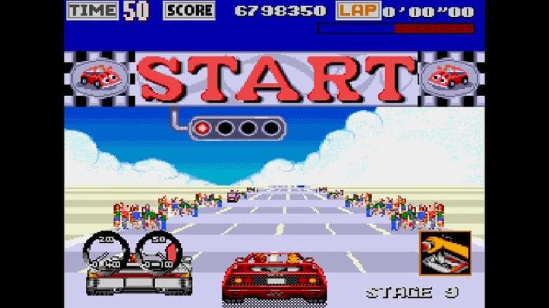 Turbo Outrun Genesis