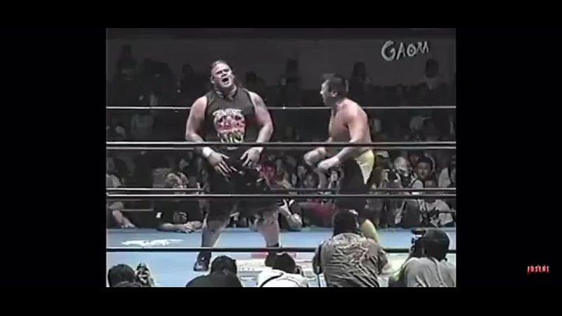 Toshiaki Kawada (c) vs. Jamal - 12.06.2004 (AJPW Crossover 2004 - Day 9)