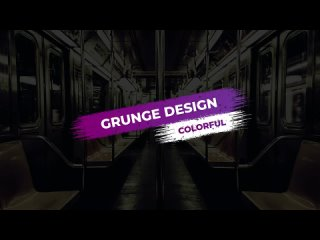 Colorful Grunge Titles  Lower Thirds