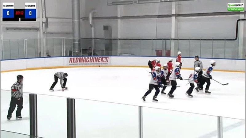 Гол ХК Сокол 2007 (Новочебоксарск)- ХК Мордовия (Саранск) (12.04.21)
