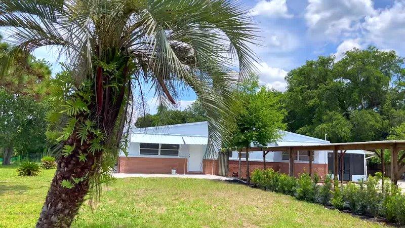 RuFlorida США ОБЗОР ДОМА за $345 000 с большим участком под ферму Орландо Флорида