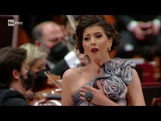 Belcanto Gala a tribute to Bellini and Donizetti: Antonio Pappano, Lisette Oropesa, Xabier Anduaga (Rome, )