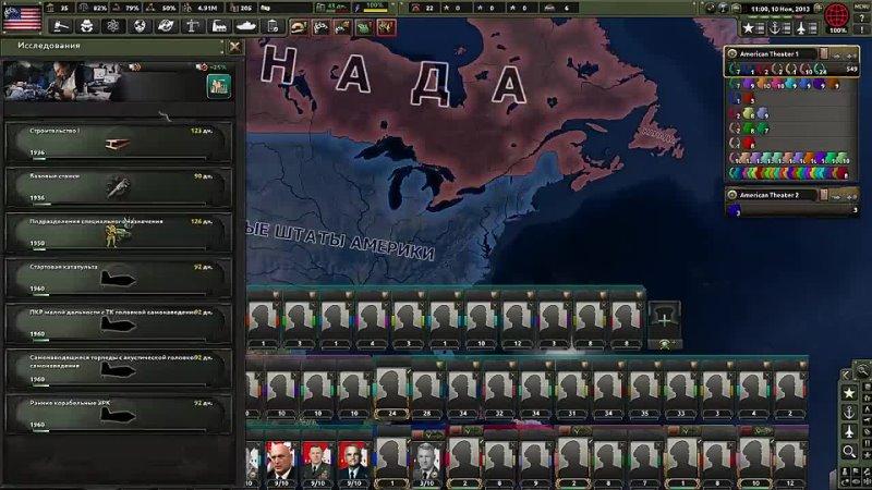 [Embro - Paradox Games] ПУТИНАТОР 9000 В HOI4 Economic Crisis