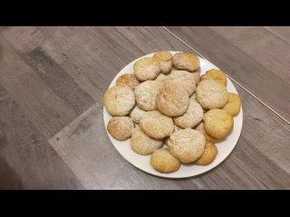 Творожное печенье.Быстрый рецепт приготовления воздушного и мягкого печенья