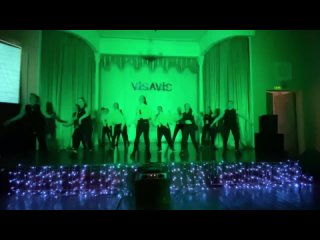 """Отчетный концерт танцевальной студии """"VIS-A-VIS""""."""