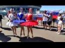 Балет в Питере перед матчем Швеция-Словакия